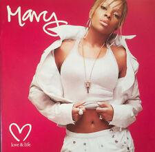 """MARY J. BLIGE -""""LOVE & LIFE""""+BONUS TRACKS-JAY Z-METHOD MAN-EVE-BRAND NEW CD 2003"""
