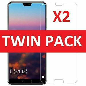 Gorilla Glass Screen Protector For Huawei P20 Pro Lite P Smart 20 P30 Gel Case
