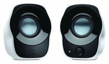 Logitech Z120 Stereo Speaker (Black and White) 2 Year's Logitech India Warranty