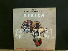 GET REAL  The Real Sounds Of Africa  LP   African      Lovely copy!