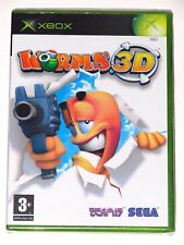 XBOX - WORMS 3D! BRAND NEW/SEALED! ITALY VER.