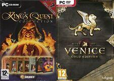 King's Quest Collection (7 Juegos) & Rise of vencice Oro Nuevo y Sellado