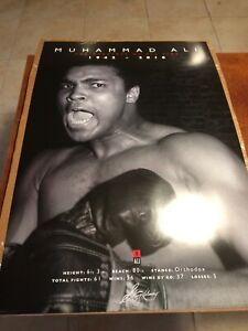 Muhammed Ali 24 X 36 Poster New, 1942-2016 The Greatest of All Time