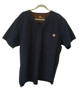 Carhartt Ripstop Men's Utility V-neck Scrub Top Style C15108 Size Large