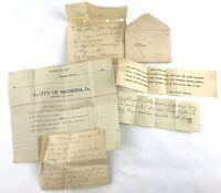 Antique Recipes Handwritten & Typed Circa 1920s