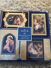 Hallmark 40 Christmas Holiday Cards with Matching Self Sealing Envelopes