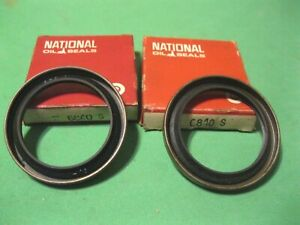 New 1955-1962 Mopar and Packard front oil seal set