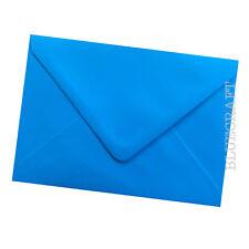 50 x A6 C6 Ocean Blue 100gsm Card Making Envelopes - 114 x 162mm