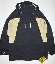 New Burton Mens 3L Prospect Vapor Shell Full Zip Ski Snowboard Jacket Large