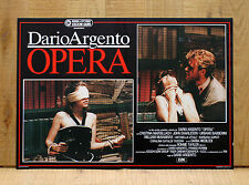 OPERA fotobusta poster Dario Argento Macbeth Verdi Horror BE34