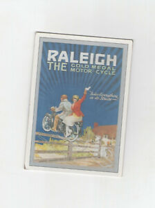 MOTORCYCLE POSTCARD - RALEIGH