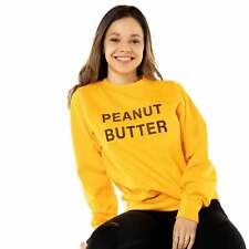 Peanut Butter Unisex Embroidered Sweater. PBJT Foodie Jelly Jumper, Cute Novelty