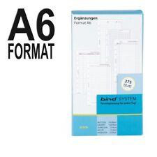 Bind a6-formato 275 hoja formulario paquete ejemplares adicionales para contingencias cita