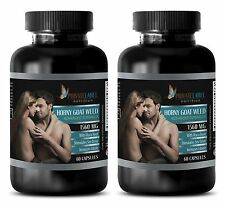 L dopa pills - HORNY GOAT WEED 1560mg - virility - mood support herbs - 2 Bot