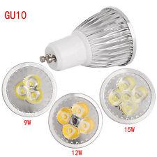 Cree GU10 MR16 Dimmable LED Spotlight Bulb 6W 9W 12W 15W COB /Epistar Lamp