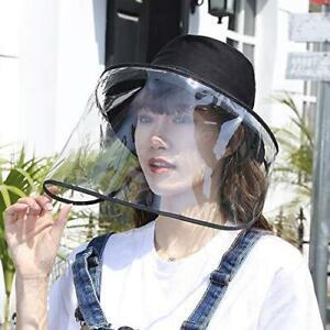 Adult Face Shield Fisherman Hat anti splash protection UNisex Detacheable cover