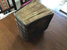 Ober Sächsisches Wirtschaftsbuch mit Vorwort v.1721 benutzter Zustand.