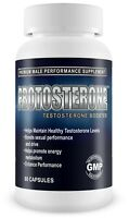 Testosterone Booster! - Protosterone Gym Supplement 60Caps Bodybuilding muscle