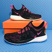 Nike Flex Contact 3 Women's Athletic Running Sneakers Black Pink Athletic Shoes