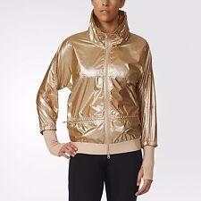 Adidas By Stella McCartney WOMEN'S RUN METAL JACKET AX6992 MEDIUM M