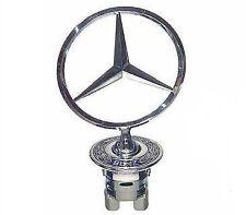 MERCEDES W124 W210 W211 W202 W203 W220 Star Emblema Cofano Hood