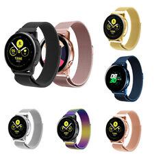 20mm Reloj Banda Pulsera Magnética milanesa para Samsung Galaxy SM-R810 42mm Reloj