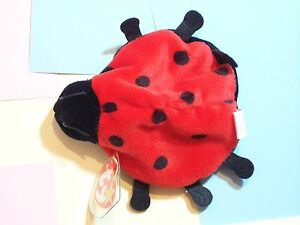BEANIE BABY LUCKY LADYBUG RED DATE OF BIRTH: MAY 1, 1995  1993 TY INC., OAKBROOK