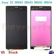 "For Sony Xperia Z3 D6603 D6643 D6653 5.2"" LCD Screen Display Touch Digitizer"