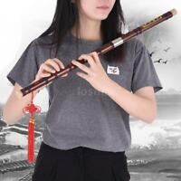 New Bamboo Flute Dizi Handmade Chinese Musical Instrument C Key Free Ship Q3Z7