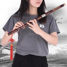 New Bamboo Flute Dizi Handmade Chinese Musical Instrument C Key Free Ship Q3Z7