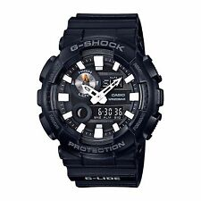 Casio GAX100B-1A Men's Ana-Digi Tide Graph Thermometer Black Glide G Shock Watch