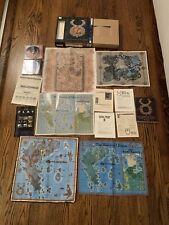 Ultima Online Origin in Big Box with Cloth Maps, Pc Cds Third Dawn Complete Rare
