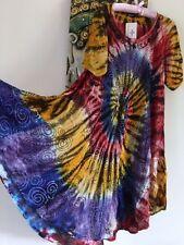 Mid-Calf Rayon Tunic Dresses for Women