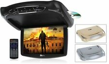 "Concept CFD-105 13.5"" LED Overhead Flip Down Monitor DVD Player w/ HDMI Input"