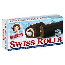 Little Debbie Swiss Rolls Big Pack 12 Count 2 pack