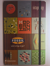 Fossil Notizbuch Buch Vintage Authentic Book ITNN8805 Rare Original, Sold Out