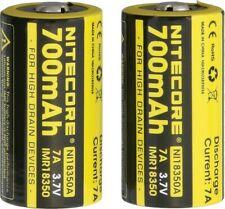 Nitecore Ni18350A2 Imr 18350 Li-Ion Battery 2-pk