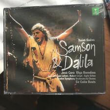 Saint-Saens: Samson & Dalila BMG Music Club (2CD, Erato 1998) NEW in Shrinkwrap