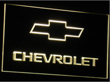 New Custom Chevrolet Chevy LED Neon Light Signs Bar Man Cave 7 colors to choose