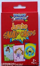 JUMBO SNAP PLAYING CARDS GAMES CHILDRENS/KIDS TOYS ACTIVITY 36 CARDS NEW - 7017