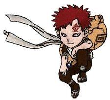 "Naruto Kneeling Gaara Figure Embroidered  4"" Patch NEW UNUSED"