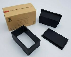 ROSIN PRE PRESS FLOWER MOLD 3  X 5 X 2.5 INCH BLACK EDITION / ROSIN PRESS