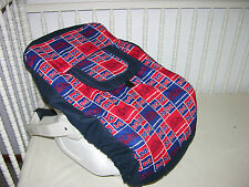 NEW INFANT CAR SEAT CARRIER COVER M/W OLE MISS FABRIC