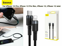 Baseus 18W PD Cable USB C to iPhone Charging Cable for iPhone 12 Pro/Pro Max