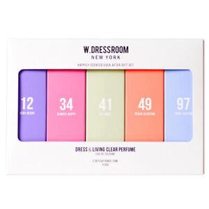 W.DRESSROOM Dress & Living Clear Perfume Eau De Cologne 2.36 oz. 5 Fragrance Set