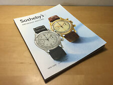 Magazine SOTHEBY'S - New York 13 June 2007 - Important Watches - English