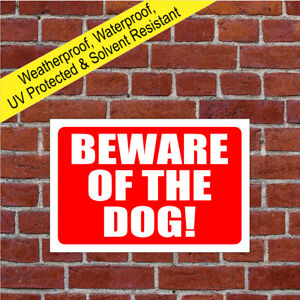 Beware of the dog sign or sticker 9008WR dog owner liability disclaimer sign
