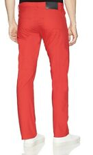 NWT! Mens ARMANI EXCHANGE Lightweight red Chino Pants Size:30X30 $100