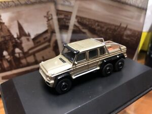 Best of Show BOS 1/87 Mercedes-Benz G63 AMG GOLD resin car model for collection