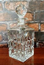 St Louis Manhattan Square Decanter Crystal Flawless Excellent Condition Saint